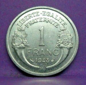 1 franc morlon alu 1948 - TTB - pièce de monnaie française - N15542