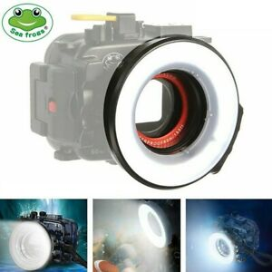Seafrogs 60m Underwater Macro Ring Flash Light for 67mm Thread Camera Housing