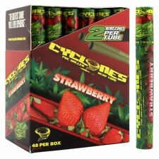 Cyclones Cone Strawberry - 10 TUBES - Pre Rolled Flavor 2 Cones Per Pack