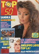 REVUE : TOP 50 091 (complet) pet shop boys SANDRA madonna SPAGNA gall KAAS lavil