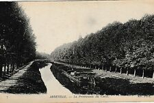 Abbeville, Somme - Promenade du Canal - old post card