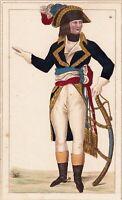 Portrait XIXe Napoléon Bonaparte Premier Empire Général en Chef Наполеон I