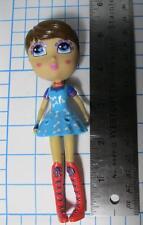 """2012 JADA TOYS ~ CUTIE POPS PETITES doll ~ CARMEL ❤️ PUPPy dog Dress-5.5"""" tall"""