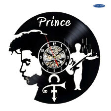 Repurposed Vinyl Record Clocks and Wall Art -  Prince-1