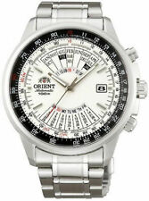 "NWT ORIENT ""Calculator"" Automatic Multi Year Calendar 44mm Watch White EU07005W"