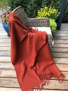 MERINO WOOL BLANKETS, WOOL THROW, SIZE 51 x 71 In, ECO, NEW, SOFT, PERFECT GIFT