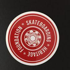"""Skateboarding Heritage sticker, 3"""" round"""