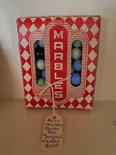 pre 1970 vintage marbles with box