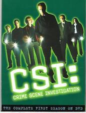 CSI - CRIME SCENE INVESTIGATION COMPLETE FIRST SEASON - 6 DVD SET