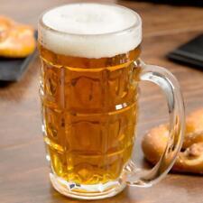 Libbey Glass Vienna 11.5oz Beer Stein Mug #5305 - Set of 4