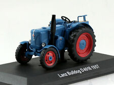 Lanz Bulldog D4016 1957 blau Traktor 1:43 Hachette/UH Modellauto