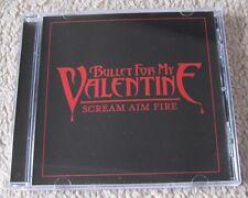 Bullet For My Valentine - Scream Aim Fire - Scarce Mint Promo Cd Single