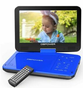 "DBPOWER 12.5"" Portable DVD Player with 10.5"" Swivel Screen Car Built-in 5 Hours"
