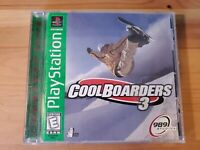 Complete Cool Boarders 3 Snowboarding Sony Playstation PS1 NTSC greatest hits
