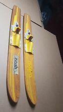 """Vintage Riviera Wooden Jr. Junior Water Skis 47"""""""