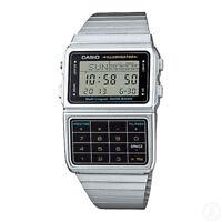 CASIO Vintage Retro Series Data Bank Telememo Calculator Digital Watch DBC-611-1