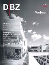 DBZ Deutsche BauZeitschrift 4│2018: Licht  +++ wie neu +++