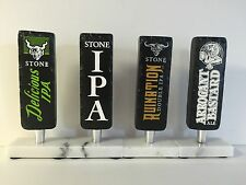 Stone Brewing IPA Beer Tap Handle ~ Set Of Four (4) Handles NEW In Box & F/S  8""