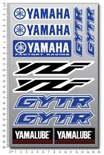 YZF Yamalube GYTR racing motorcycle decals pro quality 11 stickers Laminated
