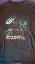 Sweeney Todd Movie Poster T-Shirt XL