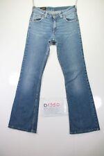 Lee Felton Bootcut cod. D1350Tg.44 w30 L33 Jeans gebraucht hohe Taille vintage