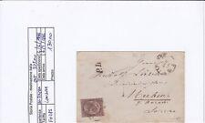 F0285 - LETTERA PER INGHILTERRA - DE LA RUE LONDRA 30 CENTEESIMI - ISOLATO-RARO