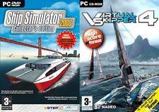 Virtual Skipper 4 & Ship Simulator 2008 Collector's incluye nuevos horizontes añadir en