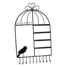 Bijoux Collier Support Cintre Cage à oiseaux Support Mural à Bijoux pour