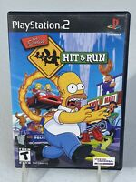 The Simpsons: Hit & Run (PlayStation 2, 2003) PreOwned