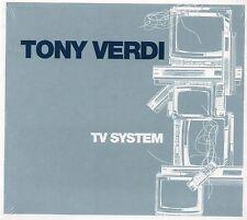 Tony Verdi - TV System (2004 CD) Digipak (Victor Calderone/Paul Mac/Frankie G)