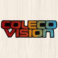 Coleco Vision Logo Embroidered Patch Vintage Computer Logo Retro Console Arcade