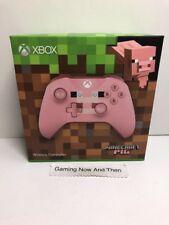 Xbox One Wireless Controller Minecraft Pig Brand New & Sealed UK PAL