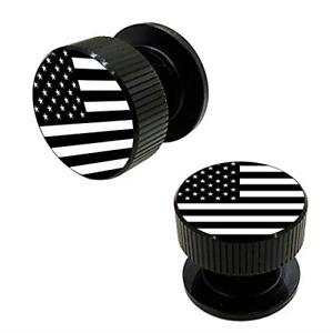 Welding Hood Pipeliner Helmet Fasteners-1Pair Black American Flag Pattern Helmet