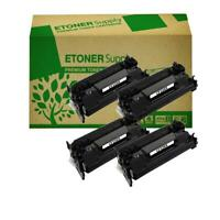 4 Black CF226X 26X High Yield Toner Cartridge fit HP LaserJet Pro M402, MFP M426