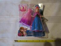 Disney Princess Frozen Anna Fairytale Castle Doll magiclip magic clip 2 dresses
