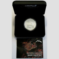 5 Dollar 2013, Fledermaus Silber PP Neuseeland!! RAR