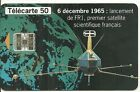 CARTE TELEPHONIQUE - PLEUMEUR BODOU N° 8 FR1 SATELLITE 50 SC7 100000ex PHONECARD
