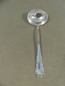 Wilkens Dresdner Barock Saucenkelle 19 cm 800er Silber