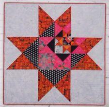 Five Stars - dramatic modern star pieced quilt PATTERN - Hunters Design Studio