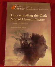 The Great Courses: Understanding the Dark Side of Human Nature DVDs & Book Set