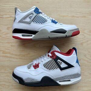Nike Air Jordan 4 Retro What The (GS) Men's Size 7Y / Women's 8.5 [408452-146]
