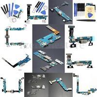 Tipos Varios de Flex Cable Puerto De Carga Dock Conector Para Samsung Galaxy