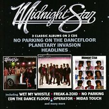 MIDNIGHT STAR - NO PARKING ON THE DANCEFLOOR  PLANETARY INVASION  HEADLINES [CD]