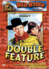 DVD~ RED RYDER Double Feature Vol 7~Wild Bill Elliott~Robert Bobby Blake~Western