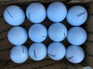 48 (4 Dozen) TITLEIST VELOCITY assorted Used Golf Balls   Quality AAAAA & AAAA