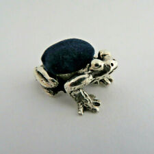 925 Sterling Silver Frog Toad Animal Sewing Pin Cushion