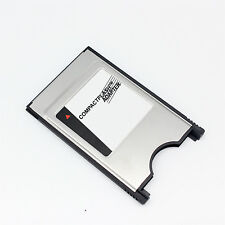New PCMCIA TO CF CompactFlash Card - Laptop CF TO PC Adapter Reader Converter