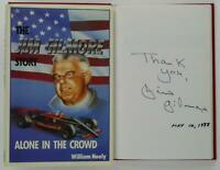 The Jim Gilmore Story Alone In The Crowd Signed HC Book 1st Edition 1988
