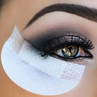 100Pcs Eyelash Pad Under Eye Stickers Makeup Eye Shadow Eyeliner Shields Patches