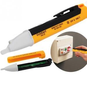 Non Contact Volt Stick Pen Voltage Detector Audio and Visual Alert To Live AC
